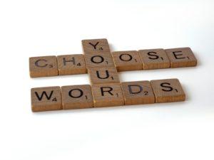 Words…