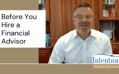 Before You Hire A Financial Advisor